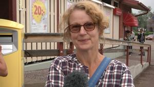 Petra Ekblom, Sveg:   – Kan du lova att vi får bättre skola i Härjedalen? Vi behöver fler lärare och bättre fritids.