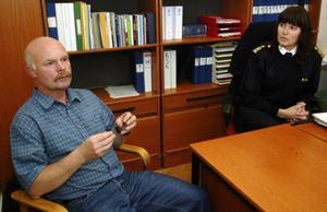 """""""Vi har ett avtal med Gotland. De skickar poliser till oss på vintern och vi skickar polisen till dem på sommaren. Därifrån kommer vi att få stöttning"""", säger Håkan Andersson, polischef i Härjedalen."""