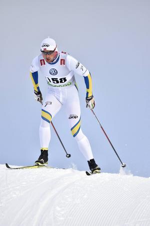 Petter Northug åkte fortast av alla och vann Bruksvallsloppet säkert med 36 sekunders marginal.