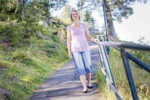 Ortorexin kom smygandes mitt i livet för Ingela Söderqvist. Men hon såg inte själv att sjukdomen tagit över hennes liv.