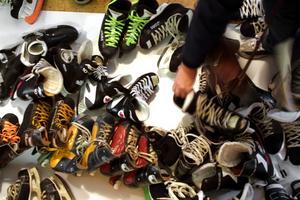 Fritidsbanken  med sport- och fritidsutrustning öppnar på måndag i Arbetsmarknadsenhetens lokaler i Askersund. Arkivfoto: Åsa Eriksson