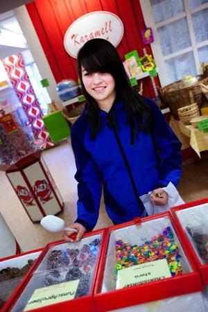 Martina Hansson, Verdal:– Jag äter mycket mer godis än vanligt när det är påsk. Jag köper både till mig själv och får av andra.