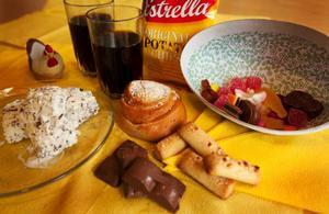 """...och så här mycket """"tomma kalorier"""" får barn mellan 7–15 år äta.Foto: Håkan Luthman"""