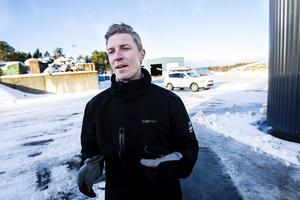 Stefan Jönsson leder arbetet med Söderhamns biogas.