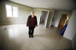 Här är en av de lägenheter som ekar tom. Johnna Christensen önskar att någon ville flyta in.