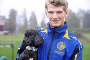 Jocke Tangfelt tog en meriterande åttonde plats och blev bäste svensk vid VM i agility.