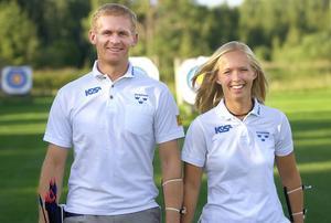 Syskonen Mikael och Karin Larsson deltog i varsitt OS. Mikael i Atlanta 1996 och Karin i Sydney 2000.