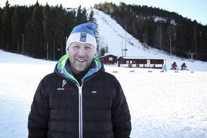 Bollebackens backchef Magnus Andersson hoppas projektet Alla på snö kommer att leva vidare även kommande år.