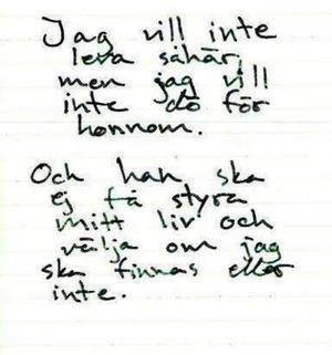 Ur Tova Mobergs dagbok.