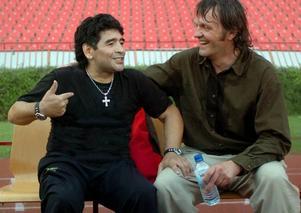 """Diego Armando Maradona är mycket öppenhjärtig om sitt skandalspäckade liv i Emir Kusturicas dokumentär """"Maradona""""."""