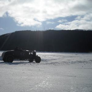 Hot Rod on ice, Åresjön, 2009-03-21 Foto: Anna Nygaard