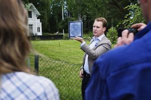 Nils-Johan Tjärnlund berättar om personer ur Sundsvallshistorien som bott i Petersvik.