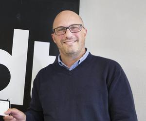 Peter Holmbom blir ny vd för Mediabärarna i Dalarna AB.
