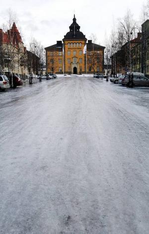 Blixthalkan slog till i Östersund och på många andra platser i länet.