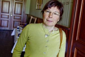 Marianne Persson arbetar i Jinjevaerie sameby, som har tvingats söka katastrofskadeskydd eftersom renbetet är låst.