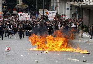 Testad solidaritet. Krisen i Grekland är en prövning för EU.foto: scanpix
