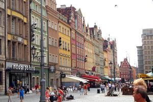 Polen har flera pärlor. Vi stannar i några städer som alla överraskar med sin skönhet. Foto:Johanna Lundin