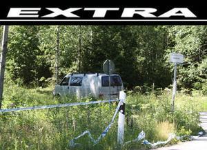 Polisens tekniker undersökte brottsplatsen i Ringvalla för att hitta bevisning efter torsdagskvällens mordförsök.