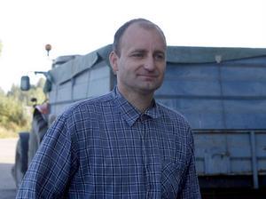 Lars Åke Magnusson är mycket nöjd med att kunna leverera till silon i Stugsund igen.