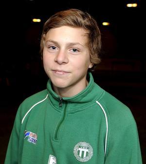 Victor Nilsson Lindelöf i ett VLT-reportage som 14-åring. Året? 2008.