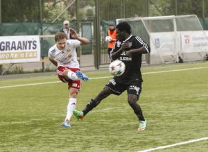Siksten Kasimir på planen under fjolårssäsongen, då HuFF slutade tvåa i division 2.