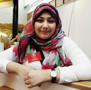 Nada Khwaiter tycker att mässan blir vad man gör den till.