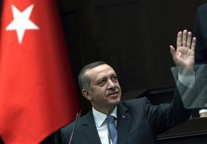 Turkiets president Recep Tayyip Erdoğan.