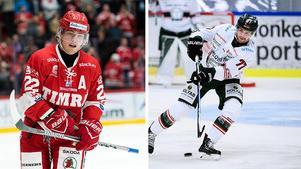 Emil Berglund och Adrian Saxrud Danielsen möts på fredagen. Foto: Bildbyrån.