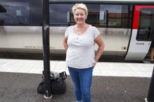 Marlene åker från Delsbo till Stockholms Pridefestival.