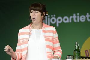 Åsa Romson (MP), miljöminister.
