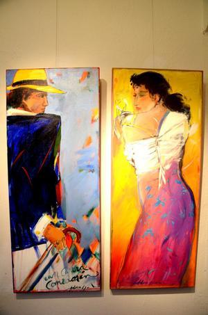 När Bo Åke Adamsson gått ut Reial Acadèmia Catalana de Belles Arts de Sant Jordi, i Barcelona, ställde han ut tillsammans med Picasso och Miró.