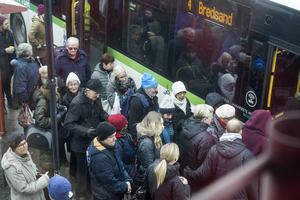 - Busskaoset i Sundsvall har ställt till det för många resenärer.