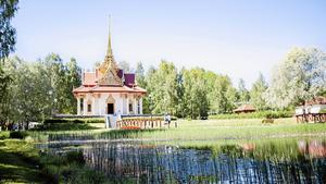 Den thailändska paviljongen i Utanede, Ragunda uppfördes till minne av kung Chulalongkorns genomresa, och är Europas största thaipaviljong.