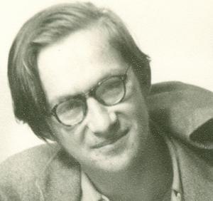 18-årige Lars Gustafsson 1954.