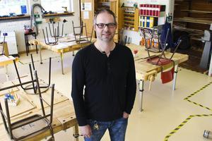 Thomas Eriksson är ordförande i Lärarförbundets lokala avdelning i Söderhamn och lärare på Vågbroskolan.
