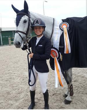 Karriärens största seger kom i Belgien tillsammans med Candelight K.