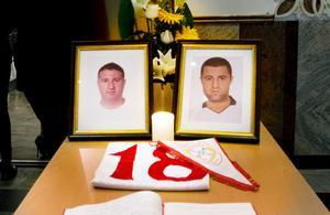 Mördade. Natten mot den 1 juli 2010 skjöts bröderna Yaacoub och Eddie Moussa ihjäl inne på spelklubben Oasen.