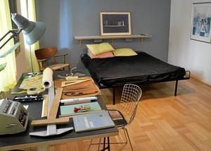 Modern dåtid. För några år sedan var det helt ute med 50-tal, nu dyker möblerna upp i nytappning i möbelhusen. Så här kunde det se ut på riktigt när det begav sig.
