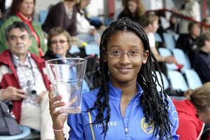 Lidiya Ararso lämnade lördagens tävlingar med två segrar i bagaget.