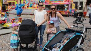 Emma Fransson, Liv Beckius och company tog sig en tur genom marknaden.