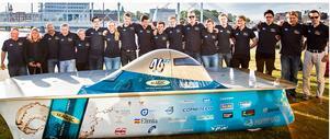 Det svenska teamet på plats i Darwin.