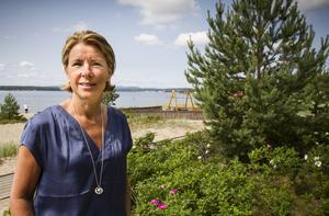 Lena Ilíc Mattsson har nära till Malnbaden från hemmet och semestrar gärna på hemmaplan under sommaren.