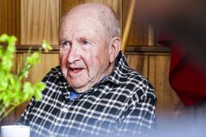 Gunnar Nilsson, 88, var äldst på plats.