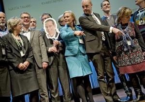 Mittåt. Fredrik Reinfeldt har mycket jobb att göra om han vill omdana Moderaterna till ett miljöparti. arkivbild: Pavel Koubek
