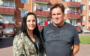 Jonna och Roine Stenis tycker att toleransprojektet ska få fortsätta. Foto: Selma Wolofsky/DT
