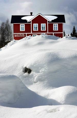 2009 blev en riktig snövinter med snödjup på 120 centimeter.
