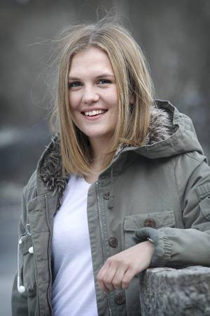 Frida Sjöberg intresserar forna storklubben Sunnanå. Skellefteålaget, som ramlade ur allsvenskan i fjol, förhandlar med ÖDFF-forwarden.Arkivbild: Denny Calvo