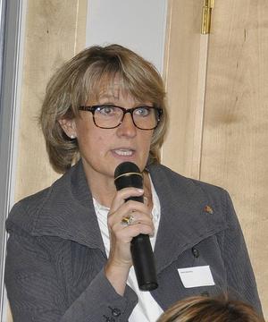 Maria Söderberg, (C), kommunstyrelsens ordförande vid Krokoms kommun
