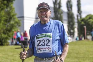 Egon Bohlin, snart 88, har varit med i alla år utom två.