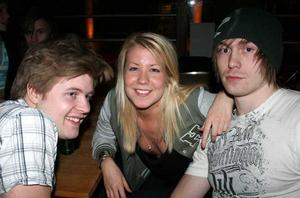Klubb 34. Patrik, Linda och Stefan